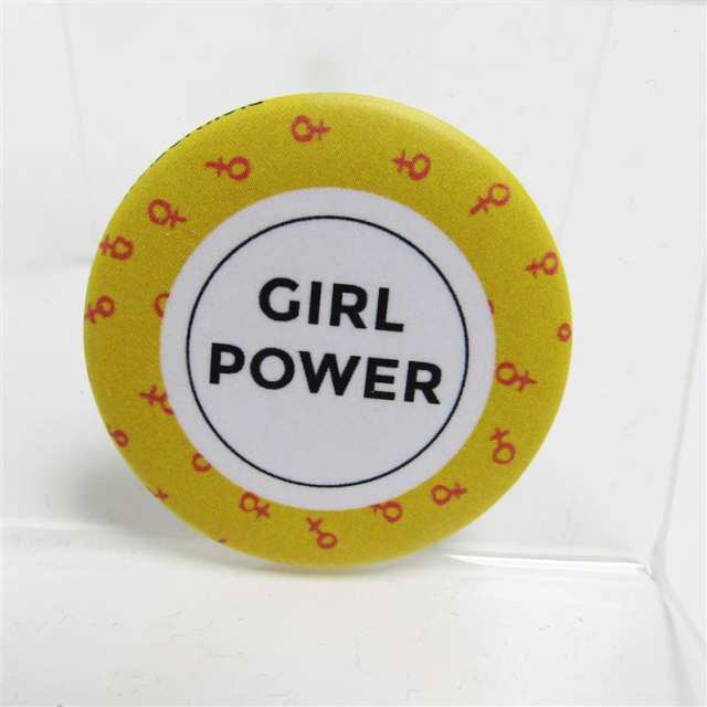 Magnet klein Girl Power